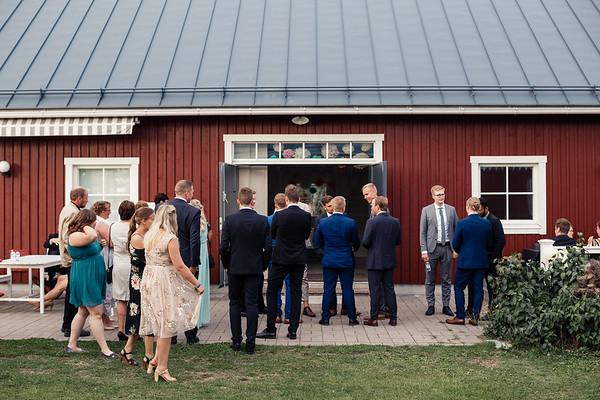 Dokumentaarinen hääkuvaus Turku Lammin talo-324