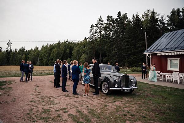 Dokumentaarinen hääkuvaus Turku Lammin talo-271