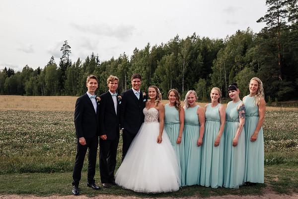 Dokumentaarinen hääkuvaus Turku Lammin talo-263