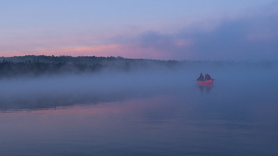 Morning Mist on the Allagash