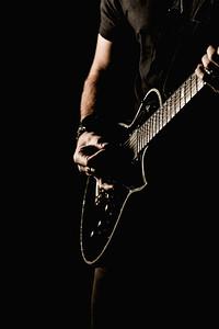 Poster Solo Dan Guitar