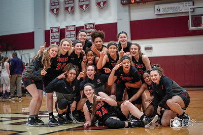Basketball_Lady Tigers vs OFallon Sectional Semi-Final 2019