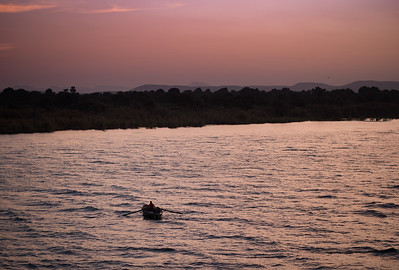 Early Morning Fishing on the Nile