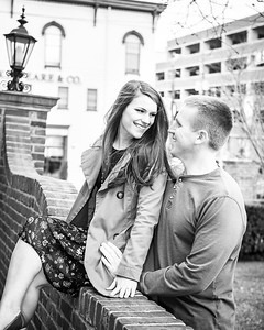 Emily & Jarrod's engagement session at Victorian Square & Gratz Park in Lexington, KY 3.29.15. © 2015 Love & Lenses Photography/ Becky Flanery www.loveandlenses.photography