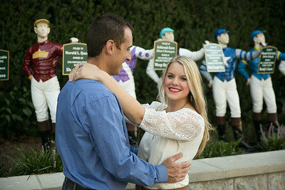 Emily & Lincoln's engagement photography at Keeneland in Lexington, KY 9.2.16.   © 2016 Love & Lenses Photography/ Becky Flanery   www.loveandlenses.photography