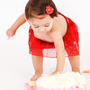 First Birhtday Cake smash Session