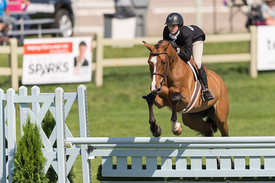 Ottawa National Horse Show 2016:  $10,000 Canadian Hunter Derby July 17