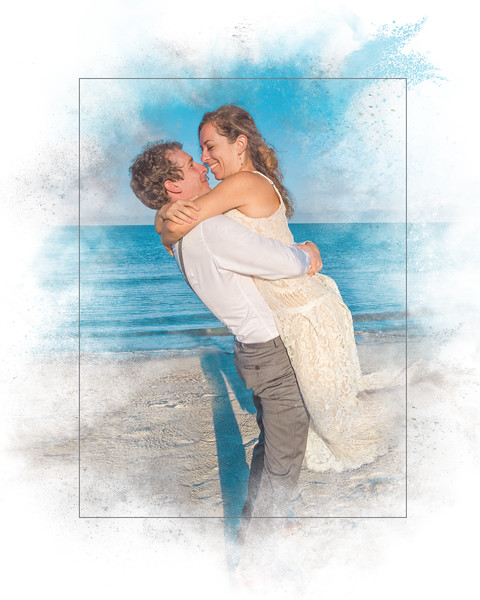Beach Hug_Painterly