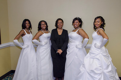 14th Annual Debutante Ball, Chesterfield Alumnae Chapter, Delta Sigma Theta Sorority, Incorporated 2013 Debutantes