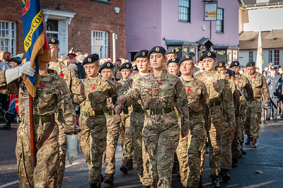 Dunmow Remembrance Parade 2018