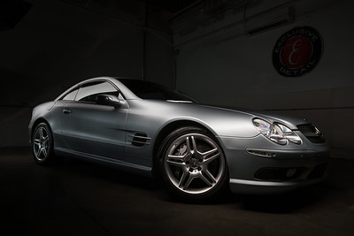 419 –Entire car with light painting