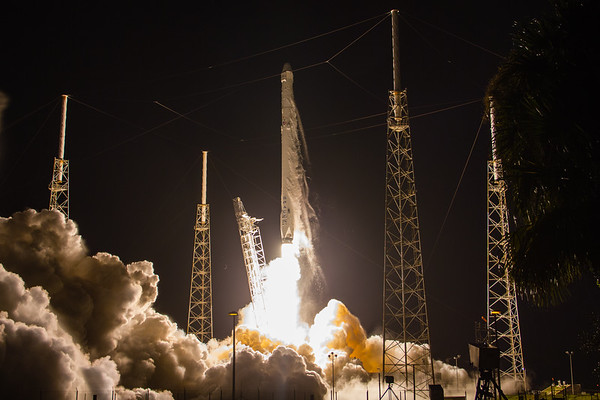 SpaceX CRS9 Falcon9 rocket