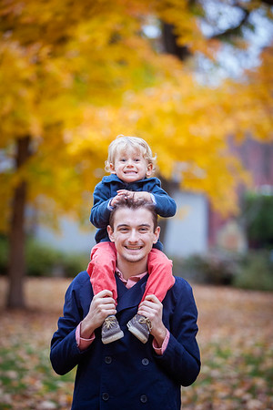 The Harston Family portraits at Gratz Park, Lexington, KY 11.4.14.