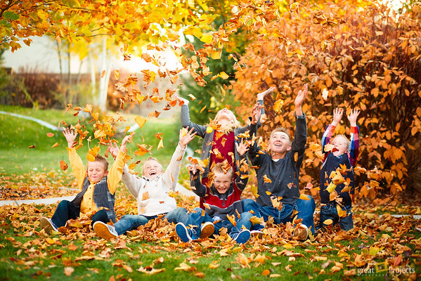 Last Fall Family Photo Fun
