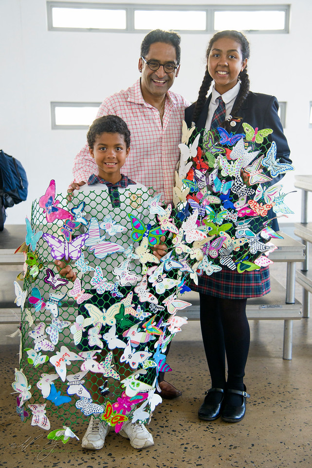 The finale of the Butterfly Project at the Denis Hurley Centre
