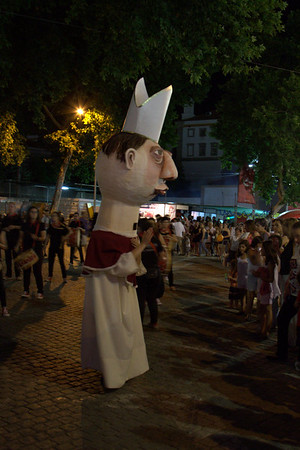 Festival of Sao Joao (Saint John), Parade, Evora, Portugal