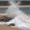 Waves breaking on the beach, Vila Nova de Milfontes, Portugal