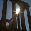 Roman Temple to Diana, Evora, Portugal