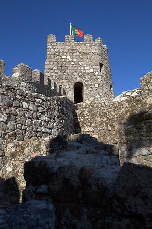 Moorish Castle, Viewpoint, Sintra, Portugal