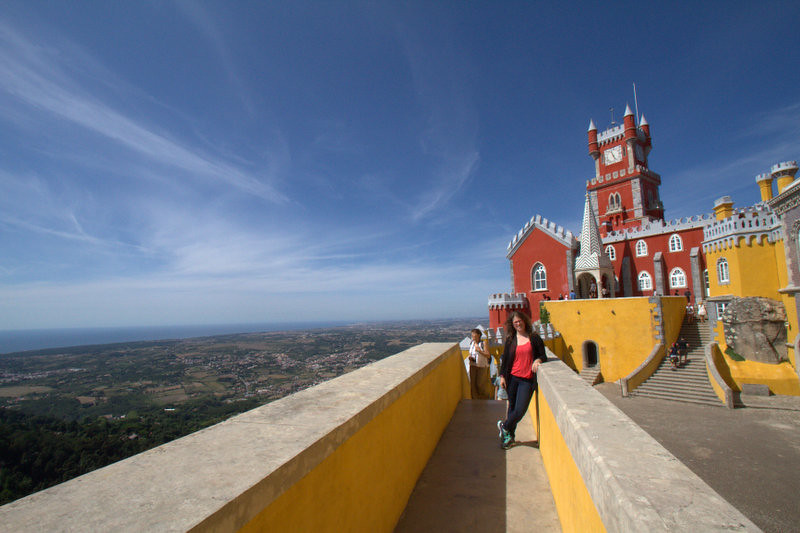 Pena Palace and Surrounding views, Sintra, Portugal