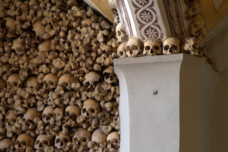 Capela dos Osos (Chapel of Bones), Evora, Portugal