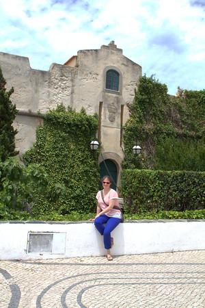 In front of my new home in Vila Nova de Milfontes