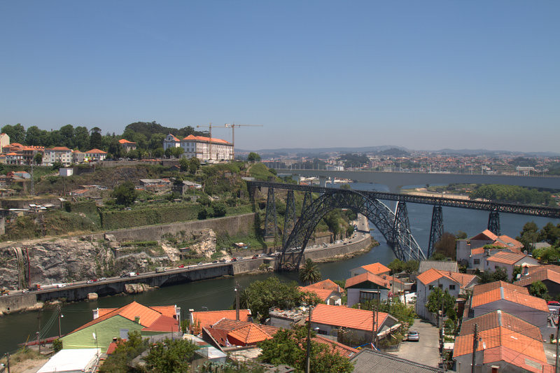 Another view of Porto and the bridges
