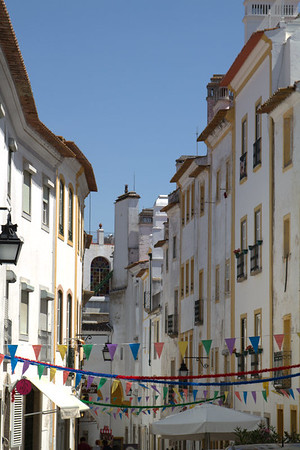 Evora, Portugal - Typical street
