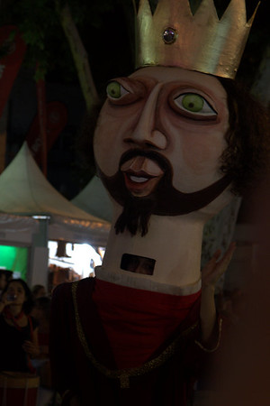 Puppet at Sao Joao fesival, Evora, Portugal