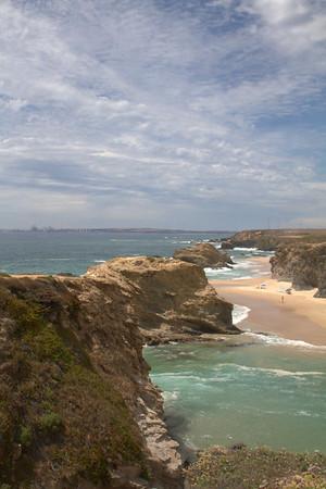 Beaches north of Porto Covo, Portugal