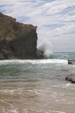 Incredible surf, Porto Covo, Portugal