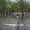 Paddle Boarding at Smith State Park