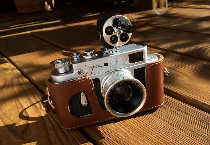 '61 Zorki 4 with Jupiter-12 Lens