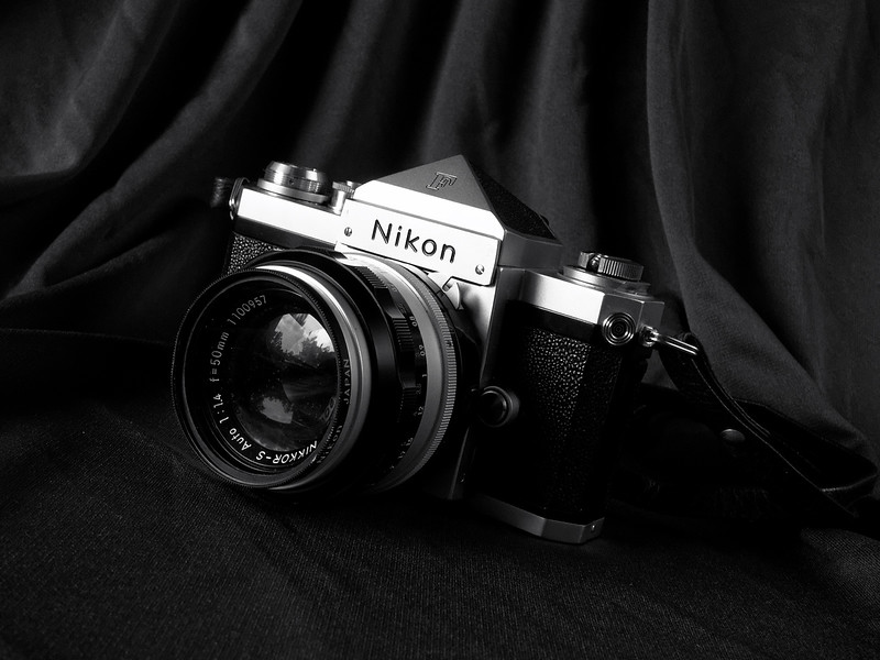Nikon F and 50mm f/1.4 Nikkor-S