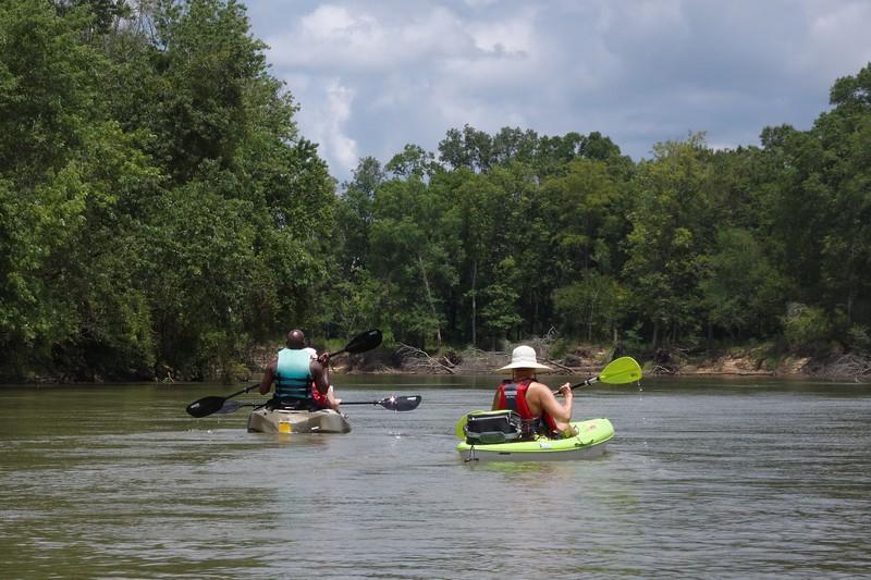Kayaking on the Ocmulgee