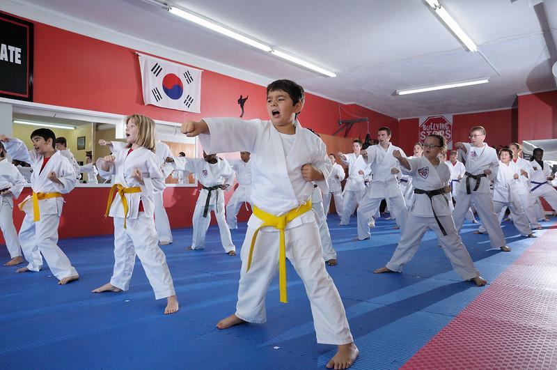 Vidalia Taekwondo Belt Testing