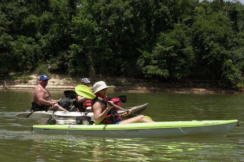 Altamaha River on Kayaks