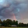 Rainbow with an iPhone
