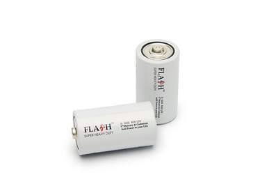 Flash Super Heavy duty D batteries