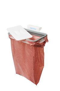 Attach-A-Trash hanging trash bag holder