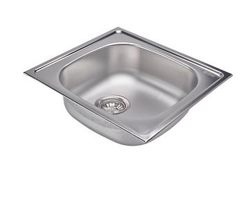 Franke Satinless Steel sink with gasket plug