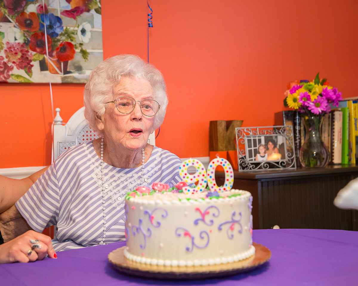 Geraldine's 90th Birthday Party, Lexington, KY 5.3.15.