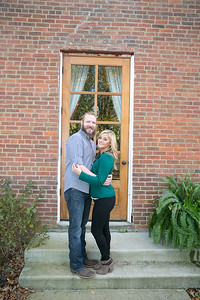 Ginny & Jonathan's engagement session at the Ashley Inn, in Lancaster, KY 11.03.15.   © 2015 Love & Lenses Photography/ Becky Flanery   www.loveandlenses.photography