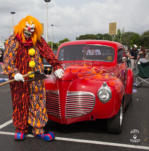 RedPlymouthCoupeClown