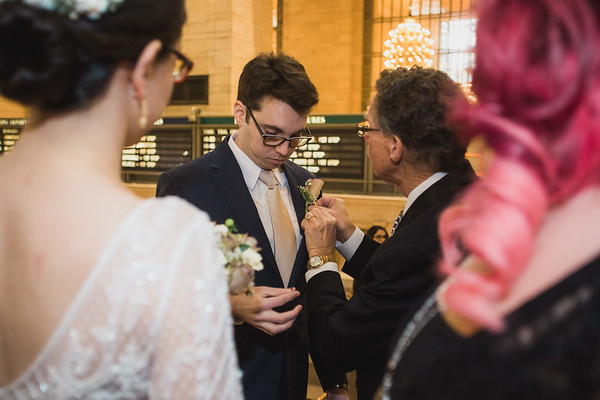 Grand Central Elopement - Irene & Robert-1