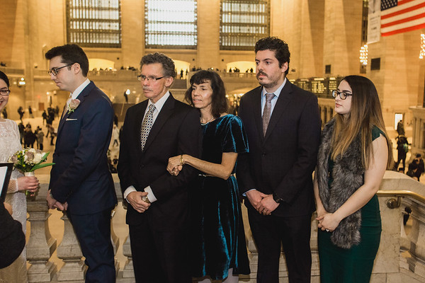 Grand Central Elopement - Irene & Robert-4