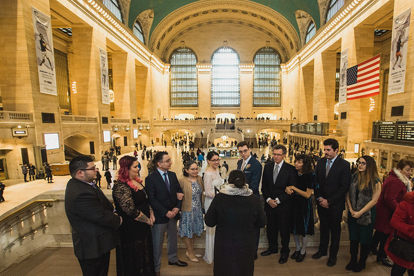 Grand Central Elopement - Irene & Robert-2
