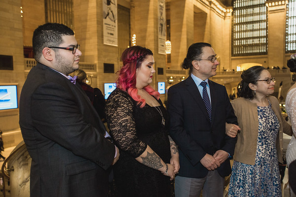 Grand Central Elopement - Irene & Robert-5
