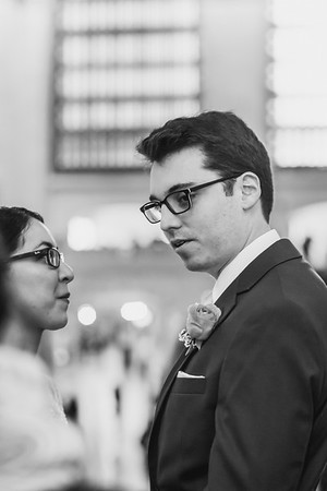 Grand Central Elopement - Irene & Robert-9