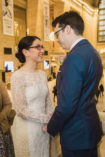 Grand Central Elopement - Irene & Robert-6